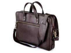 Мужская сумка для ноутбука Solier 15 - 15.4 Коричневая (SL04Brown)