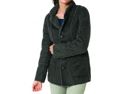 Куртка Eddie Bauer Women Lammfellimitatjacke ANTHRAZIT XL Серая (GR9928ANT-XL)
