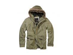 Куртка Brandit Vintage Explorer S Оливковая (3120.1-S)
