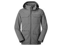 Куртка Eddie Bauer Mens Atlas Stretch Hooded Jacket CHARCOAL HTR L Серая (0049CHH-L)