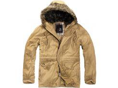 Куртка аляска Brandit Vintage Explorer CAMEL S Песочный (3120.70-S)