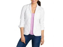 Блейзер Eddie Bauer Womens Legend Wash Stretch Blazer WHITE 48 Белый (3930WT-XL)