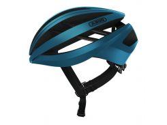 Шолом велосипедний ABUS AVENTOR S Steel Blue (776304)