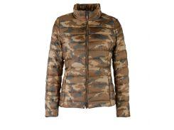Куртка Geox W3420H CHOCOLATE/MULTIC 42 Коричневый (W3420HCHMU)