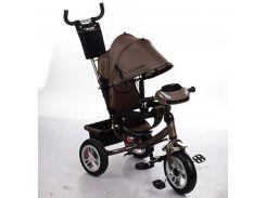 Велосипед детский Profi Turbo Trike M 3115HA-13 Шоколад