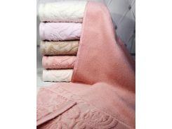 Набор 6 махровых полотенец Durul Havlu Padishah 70х140 см банные Разноцветные (psg_SA-4305)