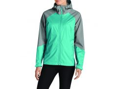 Куртка Eddie Bauer Womens Cloud Cap Flex Rain Jacket AQUAMARINE XXL Зеленый (792-792-0123AQ-XXL)