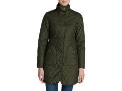 Пальто Eddie Bauer Womens Year-Round Field Coat DK LODEN XS Зеленый (0401DKLN-XS)