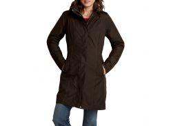 Куртка Eddie Bauer Womens Girl On The Go Insulated Trench Coat COCOA XS Коричневый (7347CC-XS)