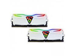 Память Geil 16 GB 2x8GB DDR4 3200 MHz Super Luce RGB Lite Frost White (GLWC416GB3200C16ADC)