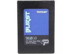 Накопитель SSD Patriot Burst 960GB 2.5 SATAIII 3D NAND (QLC) PBU960GS25SSDR (U0361833)
