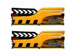 Оперативная память для компьютера DDR4 16GB (2x8GB) 3000 MHz EVO Forza Yellow GeIL GFY416GB3000C16ADC (U0286777)