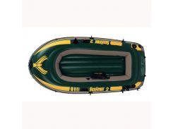 Лодка надувная Intex 68350 SEAHAWK Зеленый (int68350)