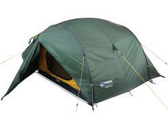 Палатка Terra Incognita Bravo 3 Alu Темно-зеленый (TI-BRA3ALU)