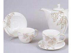 Чайный сервиз BonaDi Princess Gold-7C10 15 предметов (psg_BD-274-C10)
