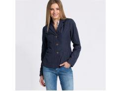 Куртка женская Geox W5221G 42 Синий (W5221GDKNV)