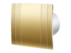 Декоративный вентилятор Blauderg Quatro Hi-Tech Gold 100
