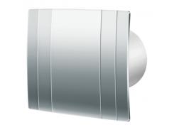 Декоративный вентилятор Blauderg Quatro Hi-Tech Chrome 125