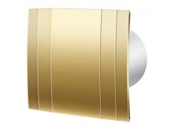 Декоративный вентилятор Blauderg Quatro Hi-Tech Gold 125