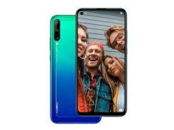 Мобильный телефон Huawei P40 Lite E 4/64GB Aurora Blue (51095DCG)