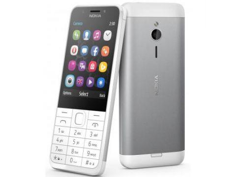 Мобильный телефон Nokia 230 Dual Silver (A00026972)