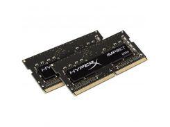 Оперативная память HyperX 16GB (2x8GB) 2666MHz SODIMM DDR4 Impact Black (HX426S15IB2K2/16)