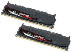 Оперативная память G.Skill DDR3-1866 8192MB PC3-14900 Kit of 2x4096 Sniper (F3-14900CL9D-8GBSR)