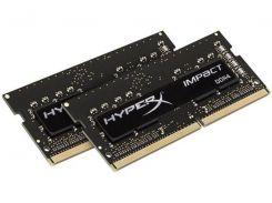Оперативная память HyperX 16GB (2x8GB) 2400MHz Impact Black (HX424S14IB2K2/16)