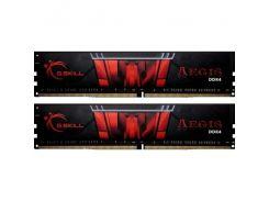 Оперативная память G.Skill DDR4-3000 16384MB PC4-24000 Kit of 2x8192 Aegis (F4-3000C16D-16GISB)