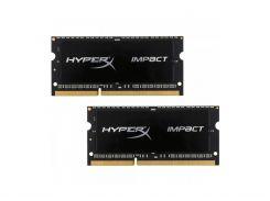 Оперативная память Kingston SODIMM DDR3L 8GB (2x4GB) 1866 MHz (HX318LS11IBK2/8)