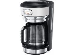Капельная кофеварка Russell Hobbs 21703-56 Retro Черный с серебристым (F00176565)