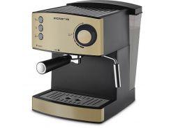 Кофеварка эспрессо Polaris PCM 1527E Черно-золотистый (F00159090)