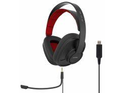 Наушники Koss GMR-540-ISO Черный с красным (F00177276)