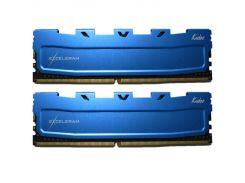Оперативная память eXceleram DDR3 16GB 2x8GB 1600 MHz Blue Kudos EKBLUE3161611AD (F00166836)