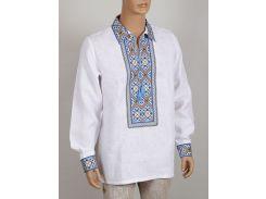 Рубашка Украинская вышиванка Колос 50 Колосок  (4019/150)