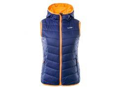 Жилет Hi-Tec Lady Solnis EVENING BLUE/GRENADINE ORANGE XL Оранжевый с темно-синим (5902786005376-XL)