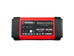 Зарядное устройство INTERTOOL AT-3018 LED-индикация