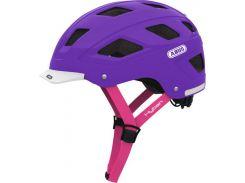 Шолом велосипедний ABUS HYBAN M Brilliant Purple (125027)