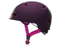 Шолом велосипедний ABUS SCRAPER 3.0 ACE M Magenta Berry (817762)