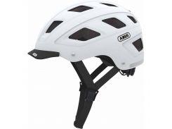 Шолом велосипедний ABUS HYBAN M-L Polar Matt White (826474)