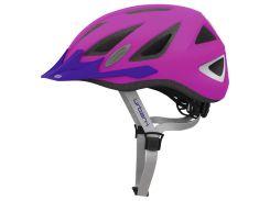 Шолом велосипедний ABUS URBAN-I 2.0 M Neon Pink (203787)