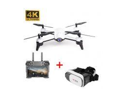 Дрон CTW W1065 2 камеры Ultra HD 4K + 720p оптическая стабилизация 20 минут полёта Белый (ui0035a) (TW18ui0035a)