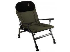 Кресло карповое M-Elektrostatyk FK5 Olive