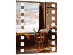 Зеркало SmartWorld Brasica с LED подсветкой 68х53х3 см (1005-d115-68х53х3)