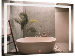 Зеркало SmartWorld Piano с LED подсветкой 60х80х3 см (1014-d72-60х80х3)