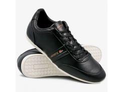Мужские кроссовки Lacoste 39.5 Черные (1510665-39.5)