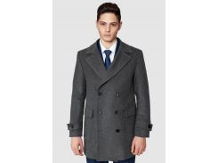 Пальто мужское Arber 52 Серое (AH 07.11.30_52/182)