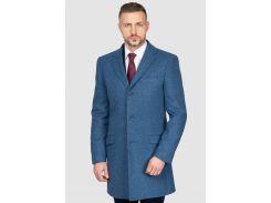Пальто мужское Arber 52 Синее (AH 07.09.30_52/182)
