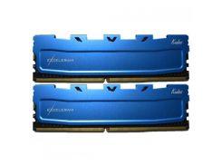 Оперативная память eXceleram DDR4 8GB 2x4GB 2400 MHz Blue Kudos EKBLUE4082417AD (F00164775)