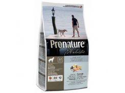 Сухой корм Pronature Holistic Adult Atlantic Salmon&Brown Rice с атлантическим лососем и коричневым рисом, холистик, для собак всех пород, 13.6 кг